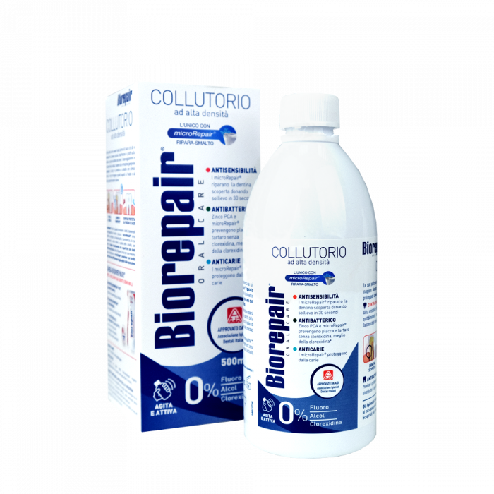 Biorepair Antibacterial Mouthwash 3 in 1